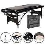 Master Massage Therma-Top Table; 30, Black (20244)