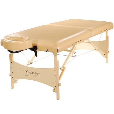 Master Massage Portable Massage & Exercise Table; 30, Beige Luster (21004)