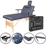 Master Massage Salon Therma-Top Massage Table; 30, Royal Blue (29227)