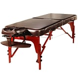 Master Massage Portable Massage Table; 30, Chocolate Luster (66206)