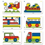 Miniland Educational 6 Patterns 5/8 Pack
