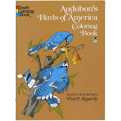 Audubons Birds Of America Adult Coloring Book, Paperback
