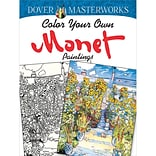 Color Your Own Monet Paintings Book