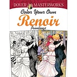 Color Your Own Renoir Paintings Book