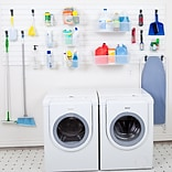 Flow Wall Laundry and Utility Room Organization System