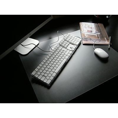 Desktex PVC Smooth Back 20 x 36 Desk Mat, Rectangular (FRDE2036V1)