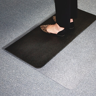 E.S. Robbins® Sit or Stand Mat, 45x53, Clear