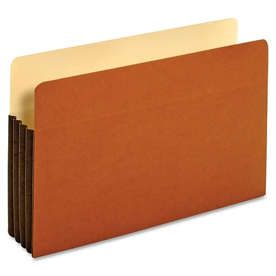 Pendaflex Tyvek File Pocket, Legal, 8.50 x 14 Sheet Size, 800 Sheet Capacity, Brown, Recycled, 10/Bx (PFX 64264)
