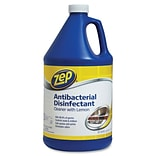 Zep® Commercial Antibacterial Disinfectant Cleaner, Lemon Scent, 1 Gallon