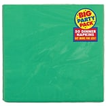 Amscan Party Pack Dinner Napkin Green 6pk