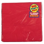 Amscan Party Pack Dinner Napkin Red 6pk