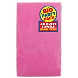 Amscan Party Pack Guest Towel Pink 6pk