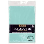Amscan 84 Robins Blue Plastic Tablecover