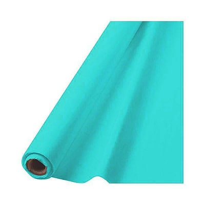 Amscan Plastic Tableroll, 40 x 100, Robins Egg Blue (77020.121)