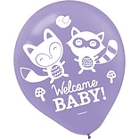 Amscan Baby Shower Latex Balloons; 12 5pk