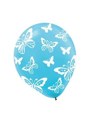 Amscan Butterfly Latex Balloons; 12'', 9pk
