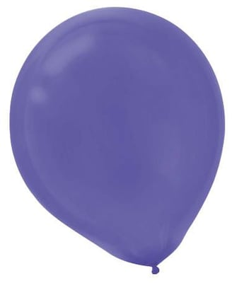 "Amscan Latex Balloons; 12"" New Purple 4pk"