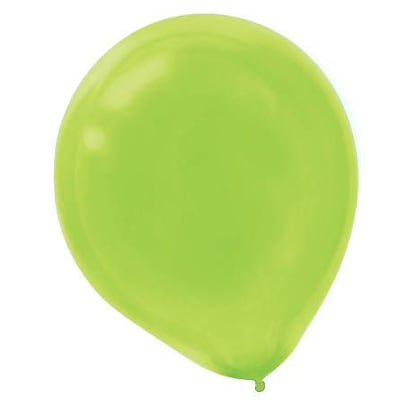 Amscan Solid Color Packaged Latex Balloons, 12, Kiwi, 4/Pack, 72 Per Pack (113250.53)