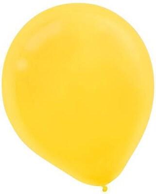 "Amscan Latex Balloons; 9"" 18pk Yellow Sun"