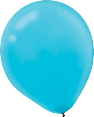 Amscan Solid Color Latex Balloons Packaged, 9'',