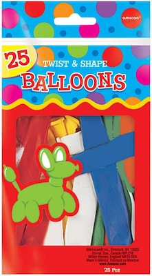 "Twist/Shape Latex Balloons 70"" Assorted"