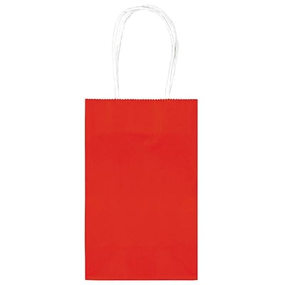 Amscan Cub Bags Value Pack, 4/Pack, Red (162500.07)