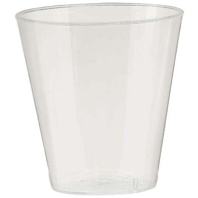 Amscan Big Party Pack 2oz Pearl Plastic Shot Glasses; 3/Pack, 100 Per Pack (357918.128)