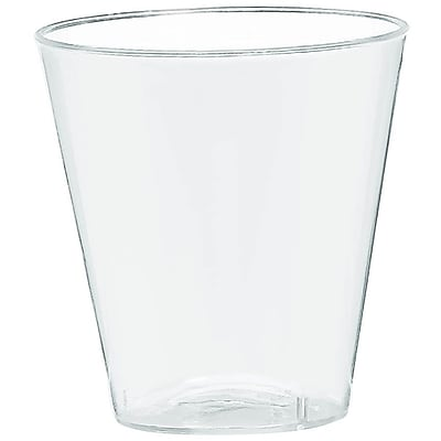 Amscan Big Party Pack 2oz Clear Plastic Shot Glasses 3/Pack; 100 Per Pack (357918.86)