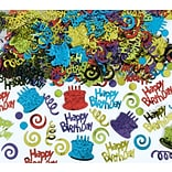 Amscan Happy Birthday Confetti; 5oz, 2pk