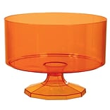 Amscan Small Trifle Container, Orange, 9/Pack (437841.05)