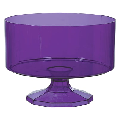 Amscan Trifle Container Medium; Purple , 4/Pack (437842.106)