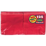 Amscan Party Pack Napkins; 5x5 Red 6pk