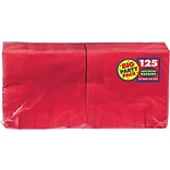 Amscan Party Napkins; 6.5x6.5 Red 4pk