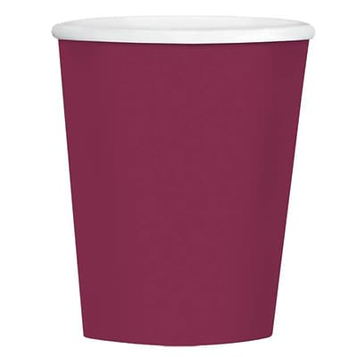 Amscan 12oz Berry Paper Coffee Cup, 4/Pack, 40 Per Pack (689100.27)
