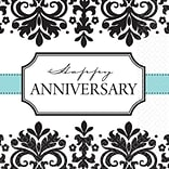 Always/Forever Anniversary Lunch Napkins BW