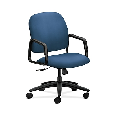 HON HON4001NR90T Solutions Seating High-Back Office/Computer Chair, Fixed Arms, Regatta Fabric
