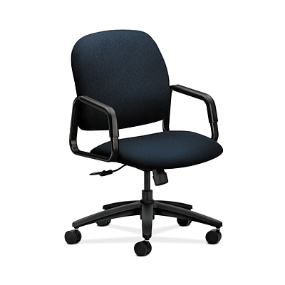 HON HON4001NT90T Solutions Seating High-Back Office/Computer Chair, Fixed Arms, Mariner Fabric