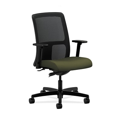 HON HONIT102CU82 Ignition Olivine Mesh Low-Back Office/Computer Chair with Adjustable Arms