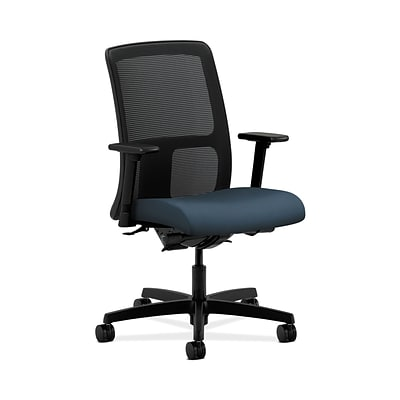 HON HONIT201CU90 Ignition Mesh Low-Back Office/Computer Chair, Adjustable Arms, Cerulean Fabric
