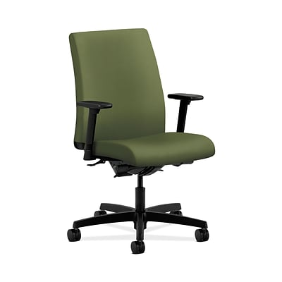 HON HONIT202NR74 Ignition Low-Back Office/Computer Chair, Adjustable Arms, Clover Fabric