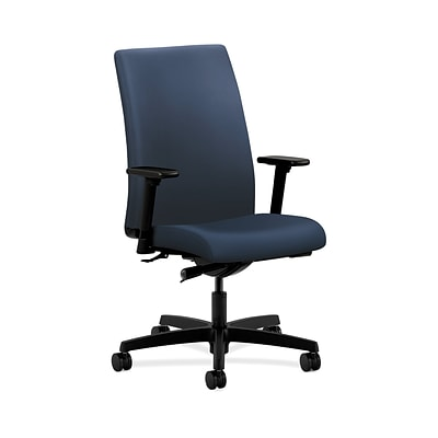 HON Ignition HONIW114UR96 Fabric Mid-Back Office/Computer Chair, Adjustable Arms, Ocean