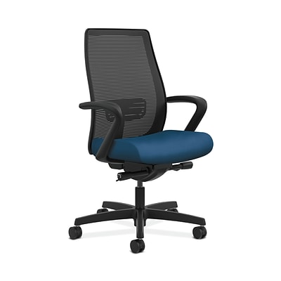 HON HONLWIM2FNR90 Endorse Collection Mesh Mid-Back Office/Computer Chair, Fixed Arms, Regatta Fabric