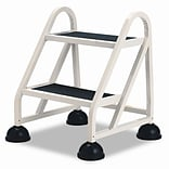 Cramer Industries Inc. 2-Step Aluminum Step Stool w/ 300 lb. Load Capacity