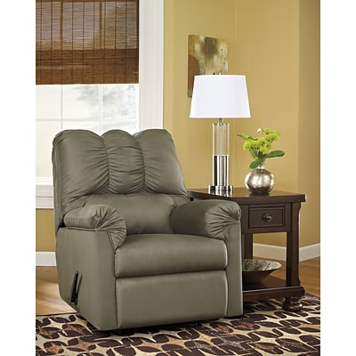Flash Furniture Signature Design by Ashley Darcy Rocker Recliner in Sage Fabric (1109RECSAG)