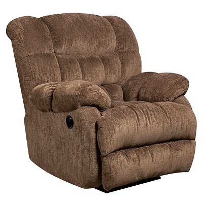 Flash Furniture Contemporary Columbia Microfiber Power Recliner w/Push Button, Mushroom AMP94605860