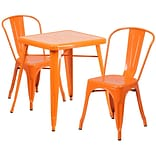30 Hi Backless In/Out Barstool w/Sq Seat O