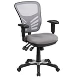 Mid-Back Mesh Swivel Task Chair w/Triple Pa