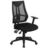 Hi-Back Mesh Swivel Task Chair w/Triple Pad