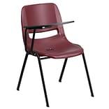 Shell Chair Right-Hand Flip-Up Tt Arm Brgd