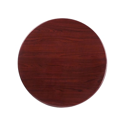 Flash Furniture 30 Round Resin Table Top, Mahogany (TPMAH30RD)